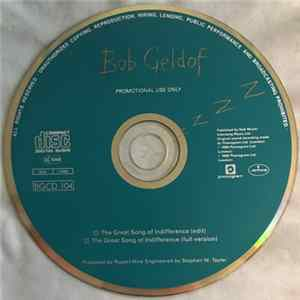 Descargar Bob Geldof - The Great Song Of Indifference